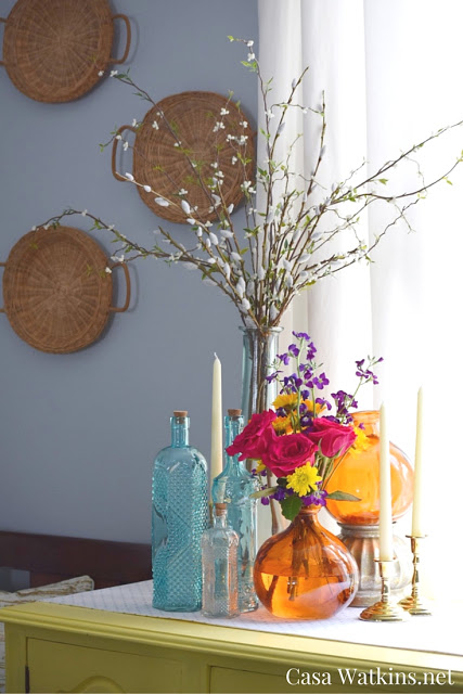 Early Fall Decorating With Thrifted Decor