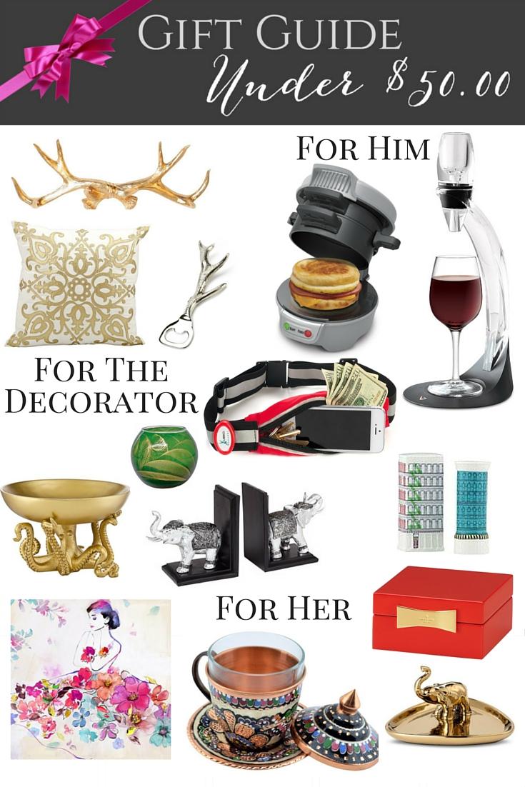 Best Holiday Gifts Under $50 - Casa Watkins Living