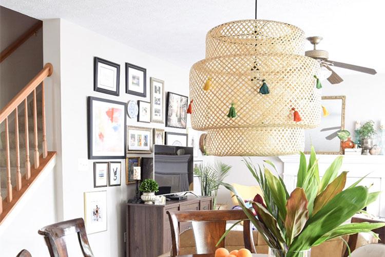 Ikea Sinnerlig Hanglamp : Diy ikea lamp makeover ideas casa watkins living