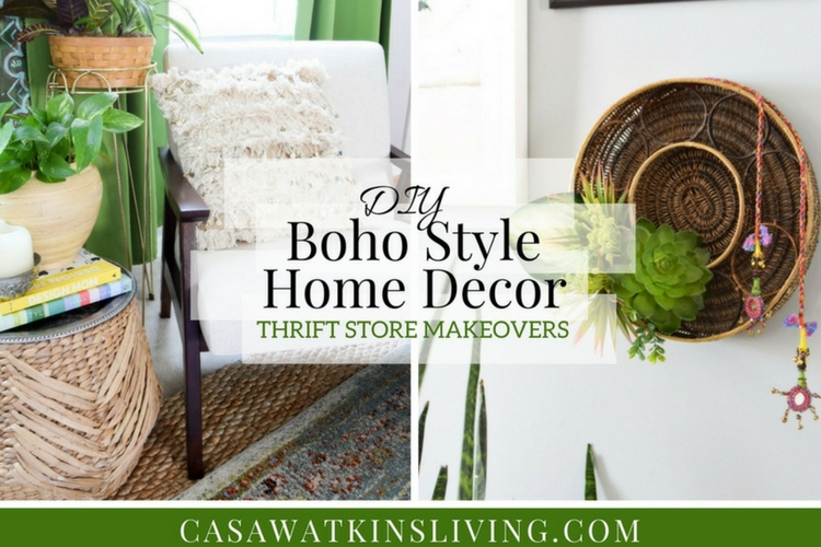 Diy Boho Style Home Decor Video Tutorial Casa Watkins Living