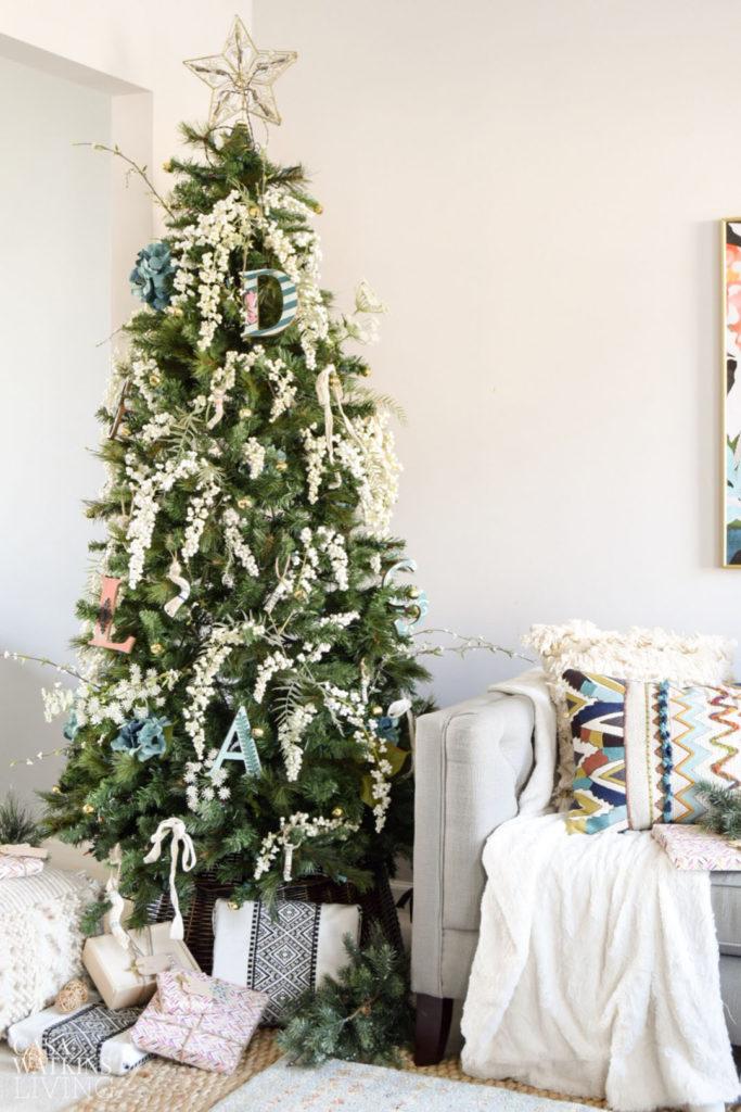 Simple Bohemian Christmas Tree Casa Watkins Living