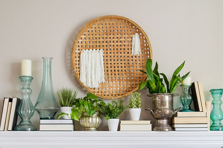 Diy Woven Basket Wall Hanging Casa Watkins Living