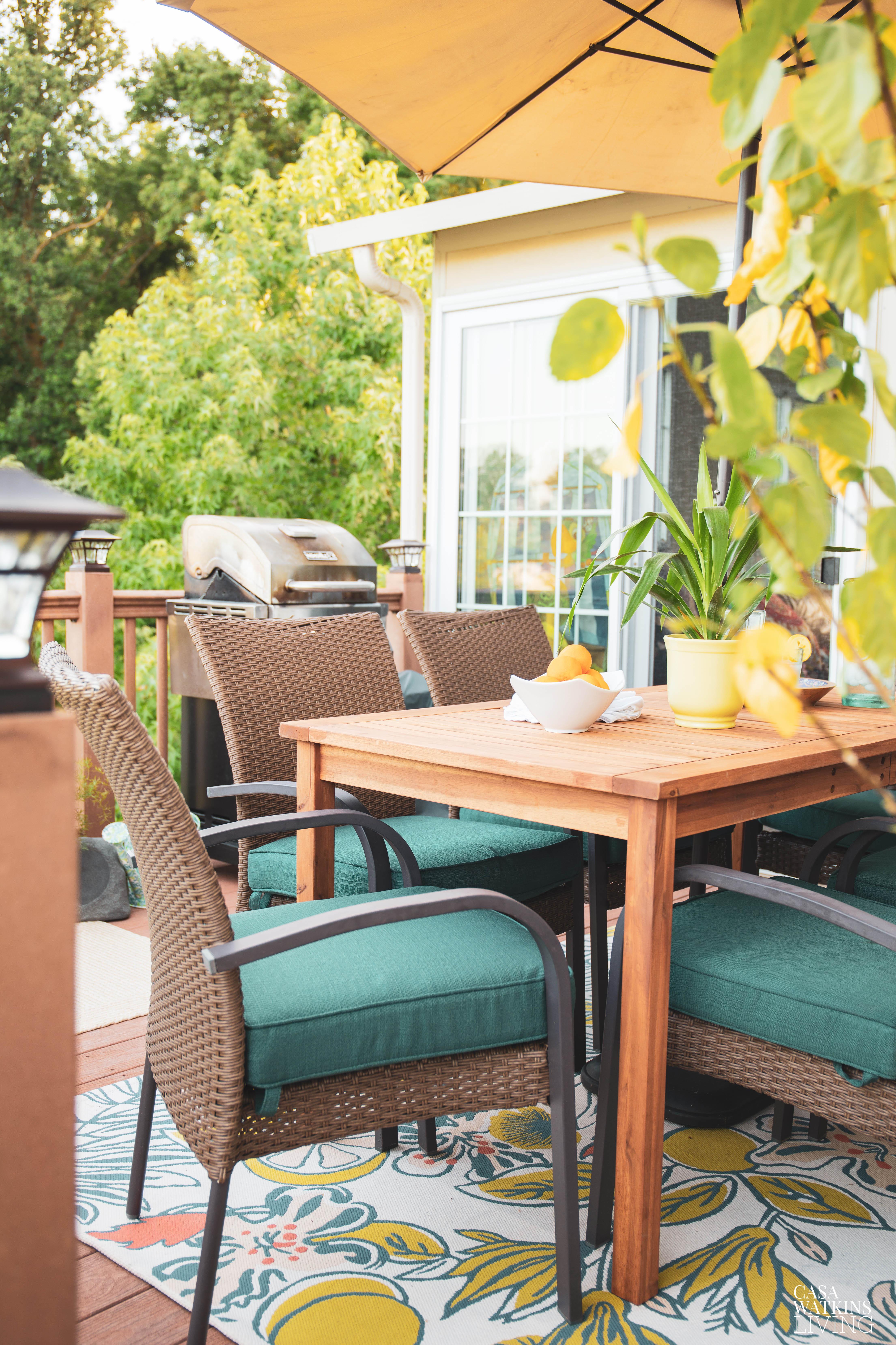 Bohemian Outdoor Decorating Ideas For Small Decks Casa Watkins Living